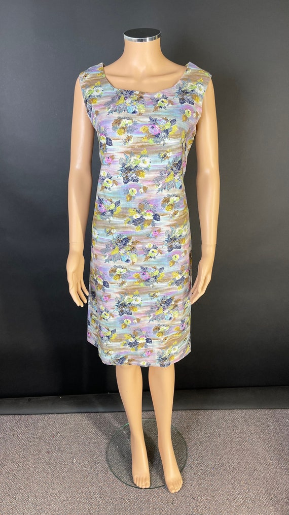 Gorgeous late 50's cotton day dress