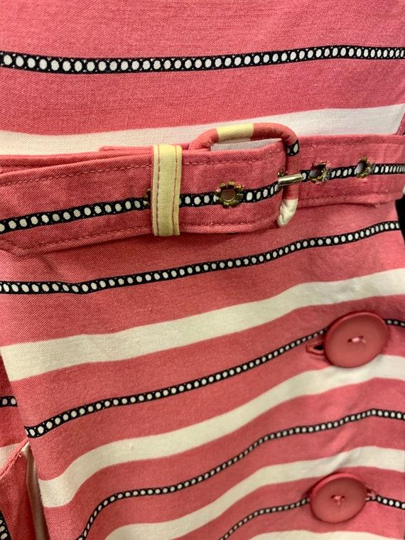 1940s cotton day dress - image 8