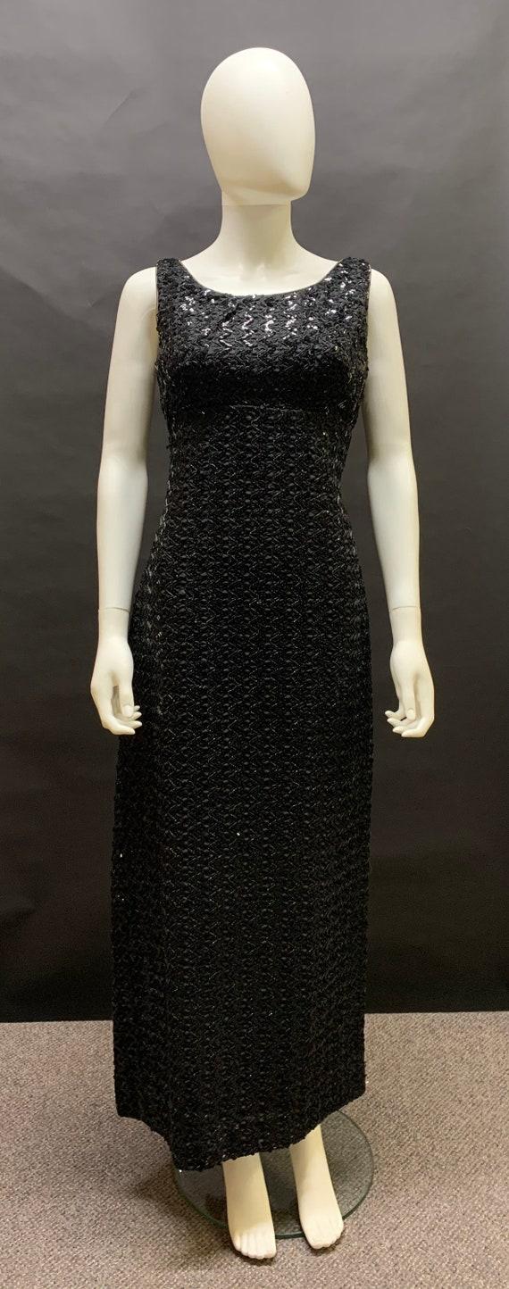 60's sequin gown
