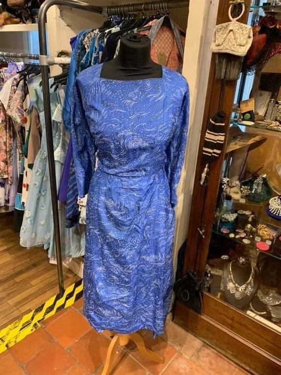 "Beautiful volup ""Susan small"" 1950s  day dress"
