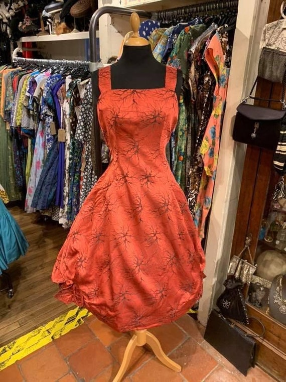 Fantastic 1950s brocade gown