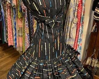 STUNNING 1950s cocktail dress
