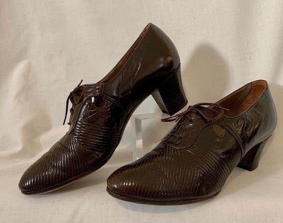 1930s lace-ups