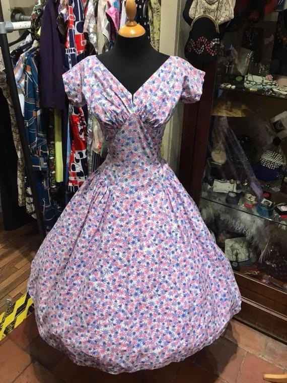 Stunning 1950's cotton