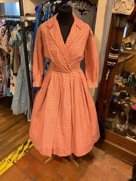 Cute 1950s day dress