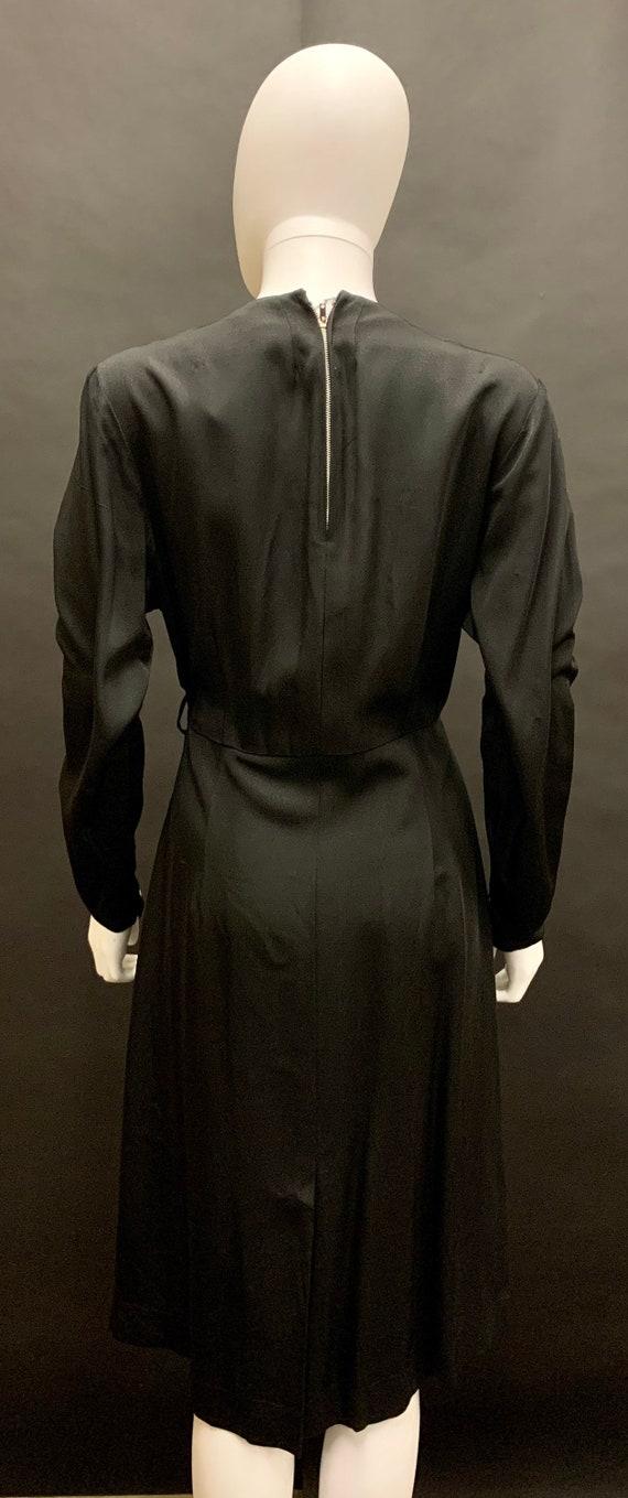 Stunning volup 1940s dress - image 5