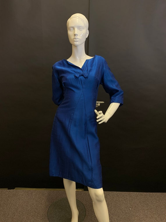 50s volup cocktail dress