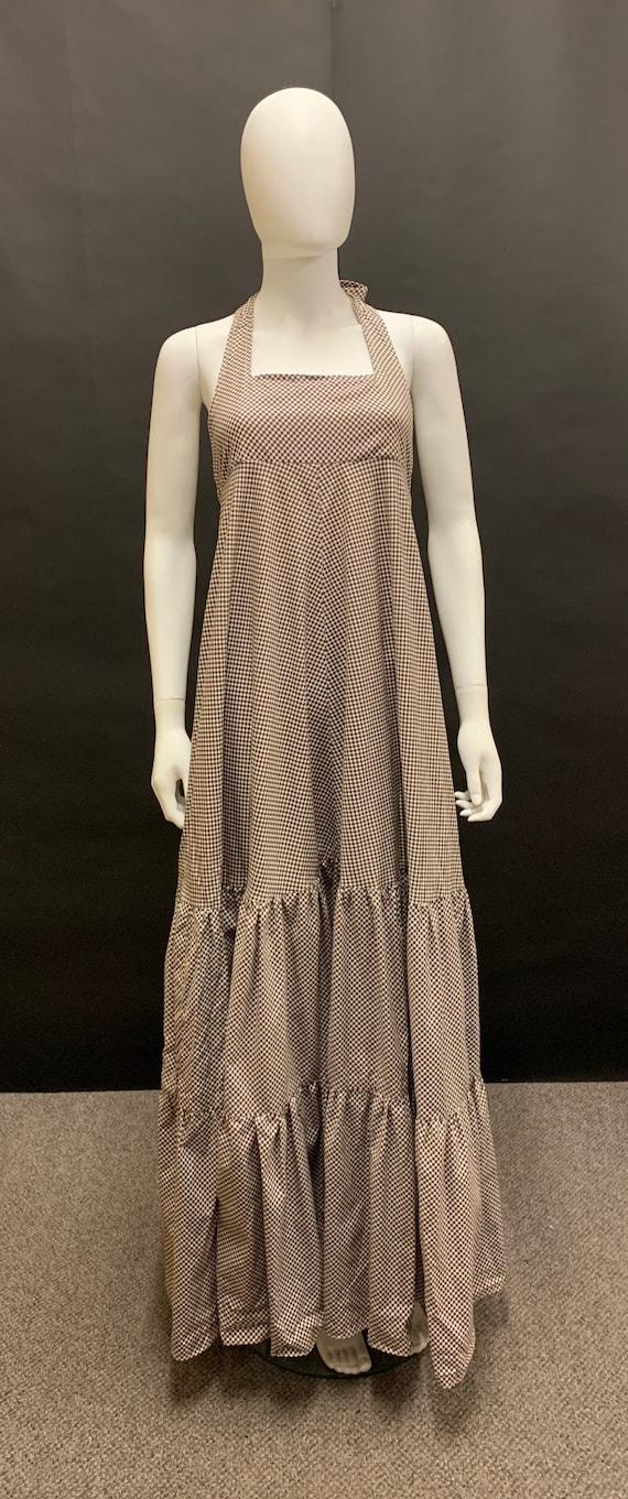 Gorgeous 70's maxi prairie dress