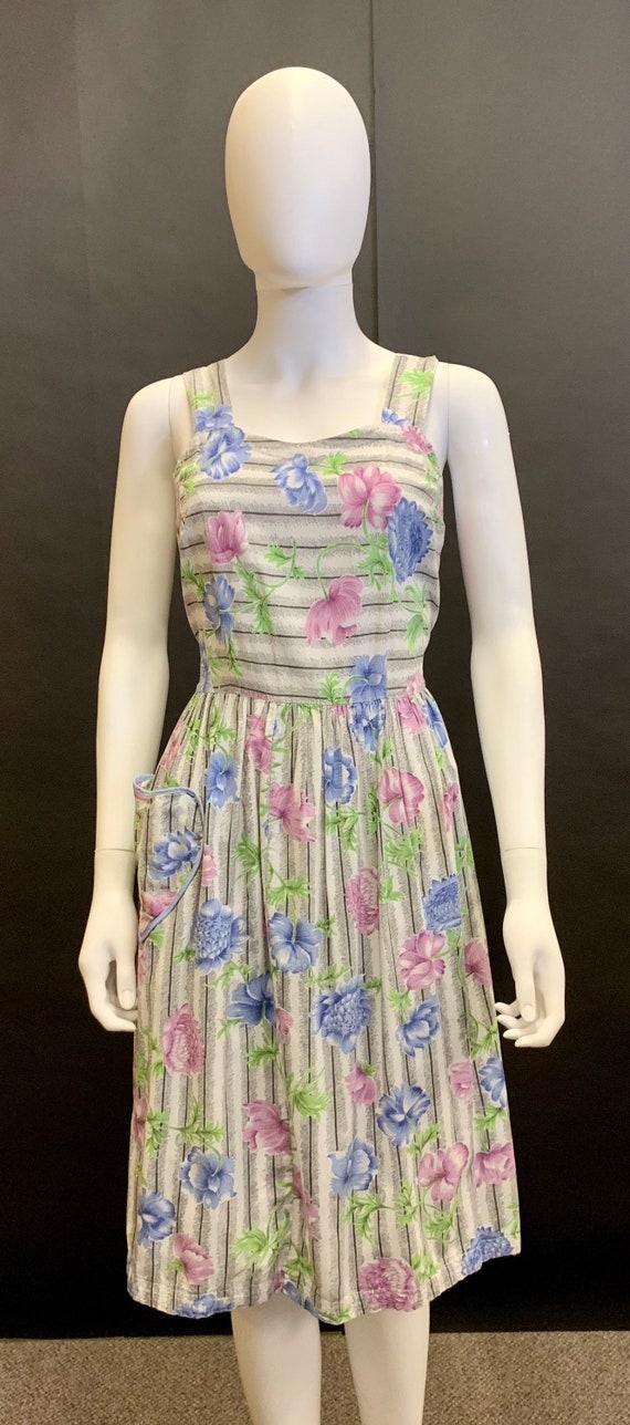 1940's sun dress