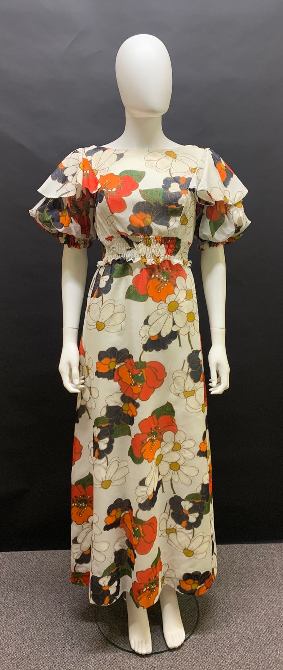 Fantastic 70's maxi dress