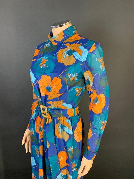 Fantastic 1970s volup maxi dress - image 3