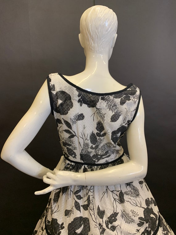 50's cotton dress - image 4