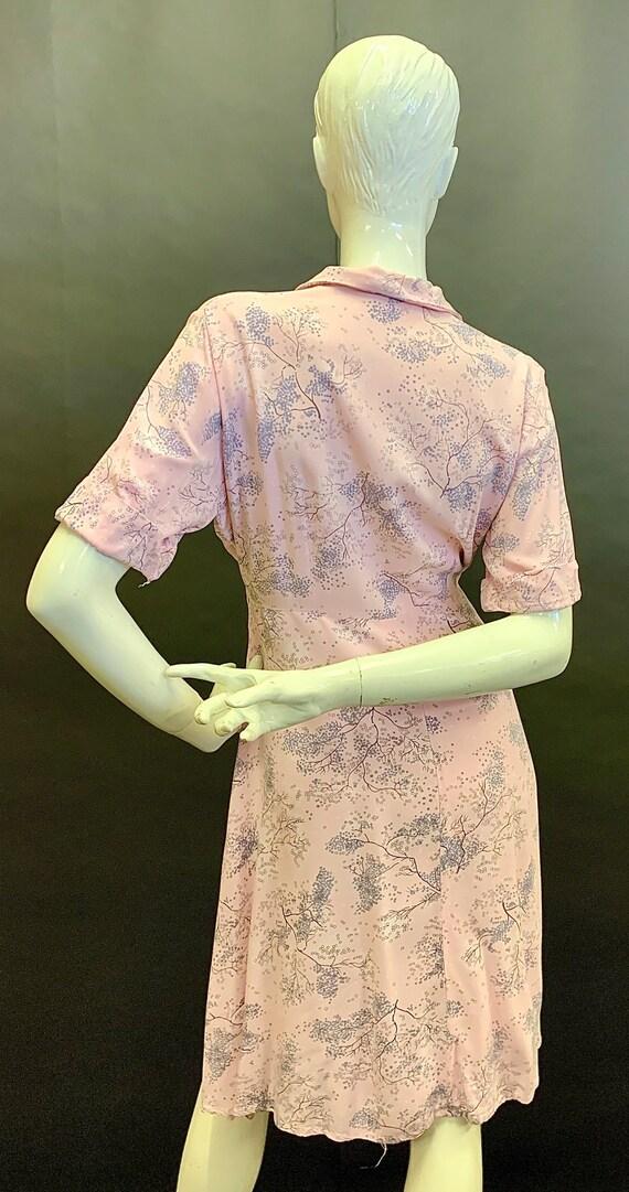 Cute volup 1940s dress - image 4