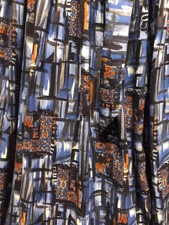 Beautiful 50's cotton dress - image 4