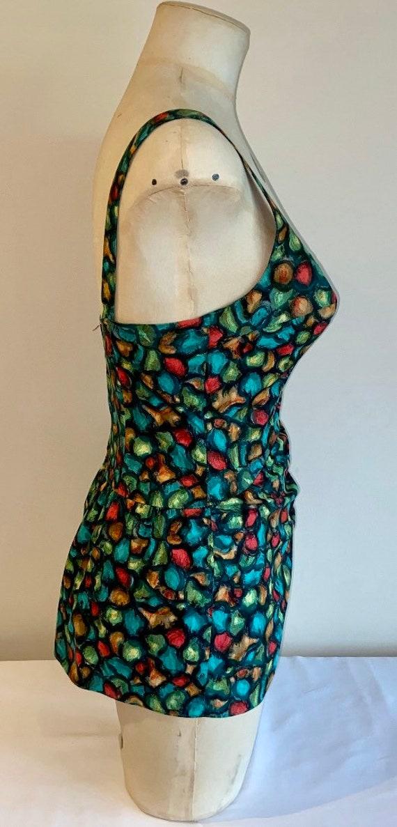 50's cotton swimsuit - image 2
