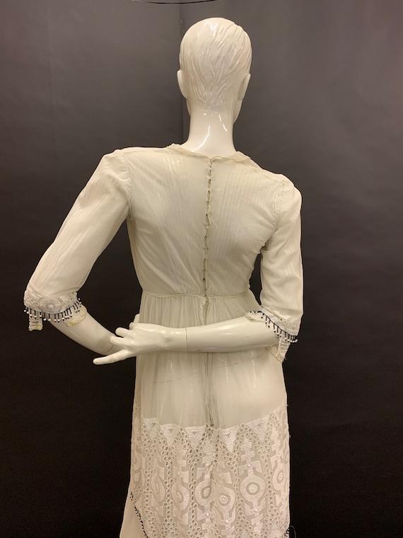 Edwardian hand embroidered dress - image 7