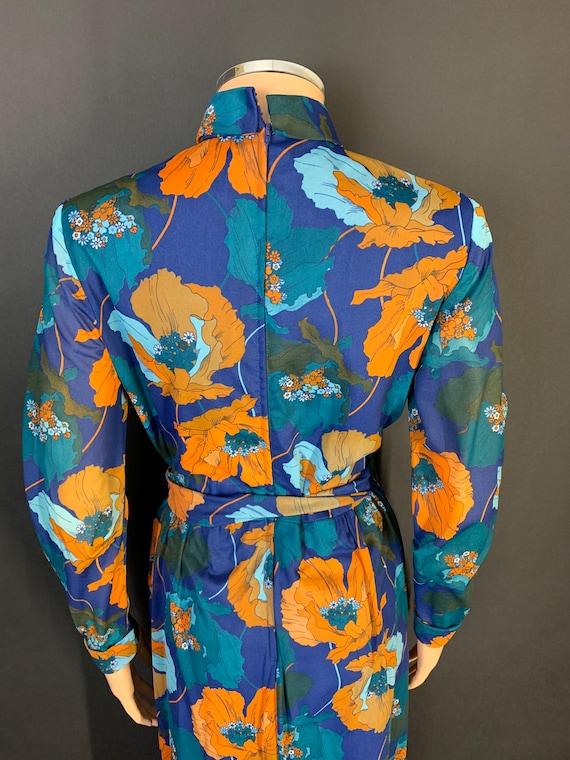 Fantastic 1970s volup maxi dress - image 5