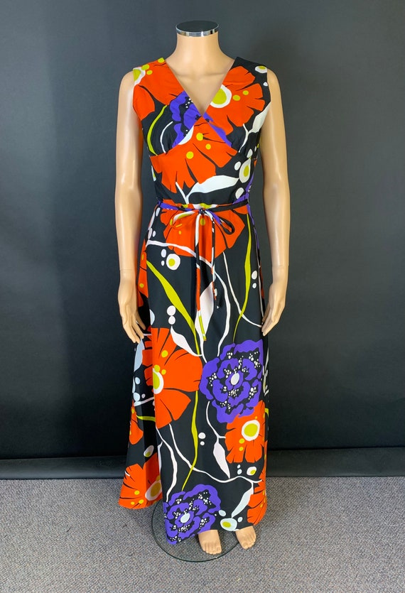 Fab 1970s maxi dress