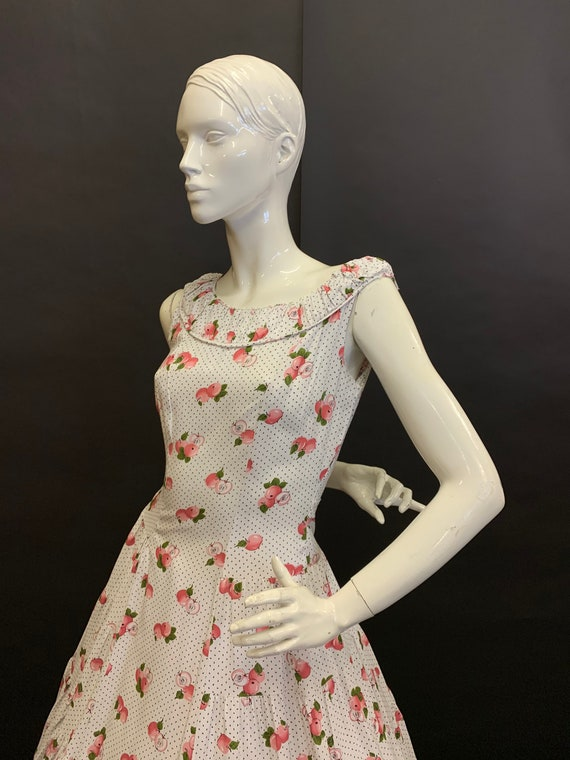 Novelty print 50's dress - image 3