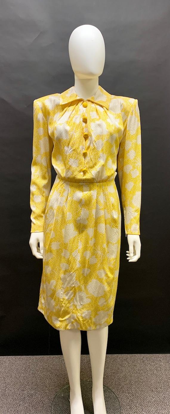 "1980s Silk ""Givenchy"" dress"