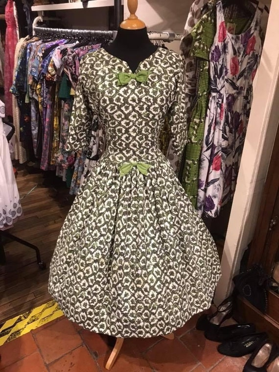 Gorgeous 50's cotton