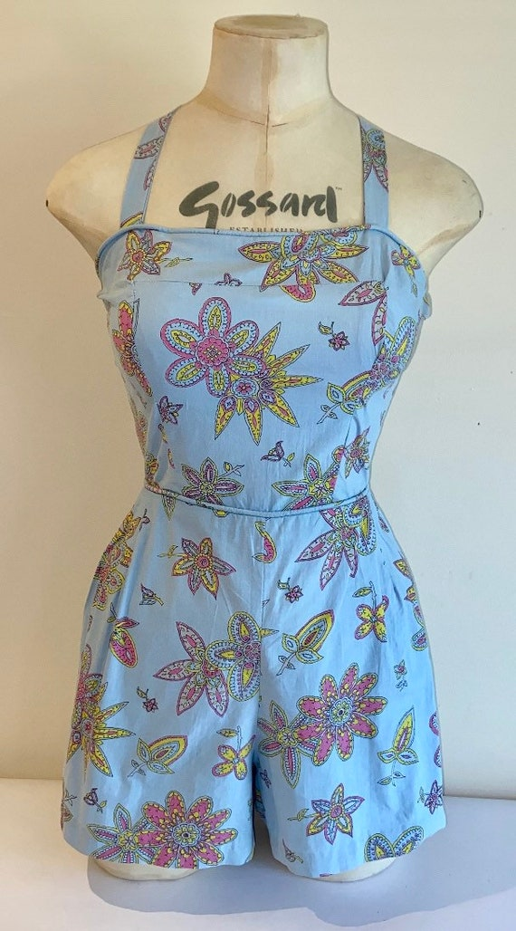 Gorgeous 50's cotton play suit
