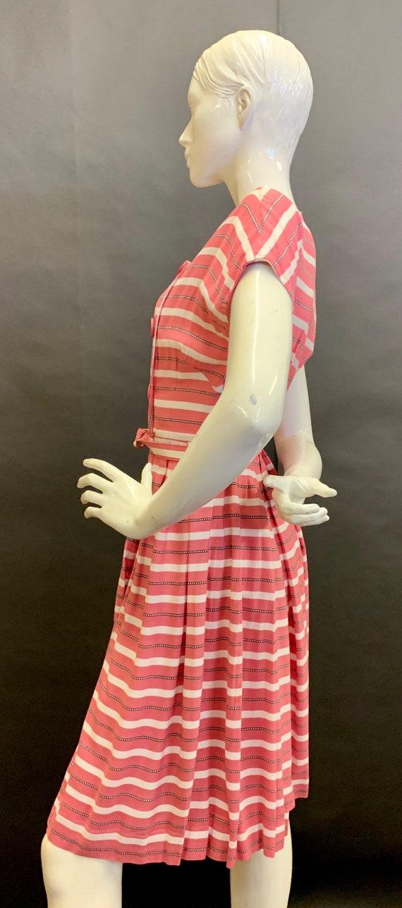 1940s cotton day dress - image 5