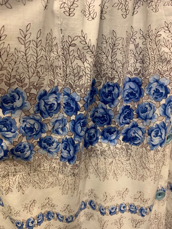 50's cotton day dress - image 6