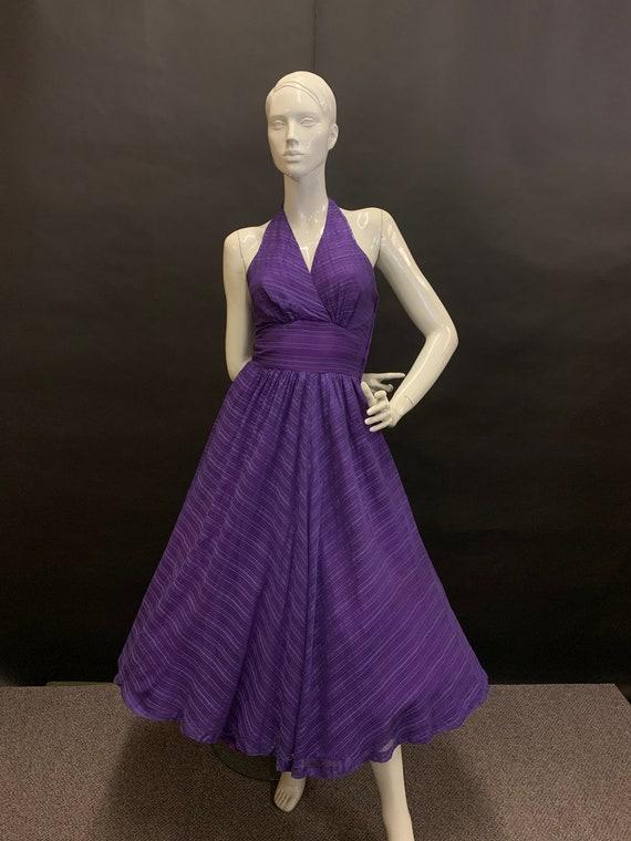 Early 50's halter dress