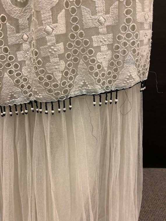 Edwardian hand embroidered dress - image 9