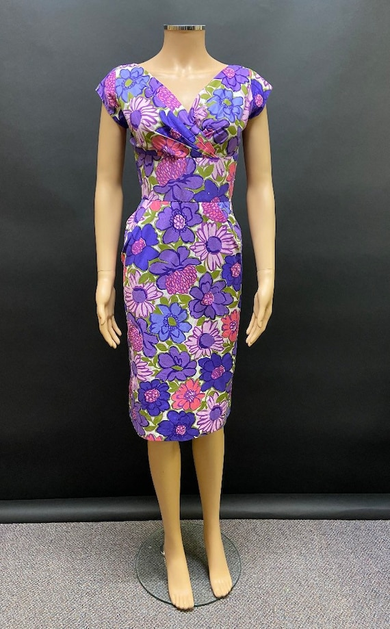 "Gorgeous 50's ""sambo"" wiggle dress"