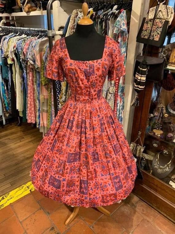 Fab 1950s day dress