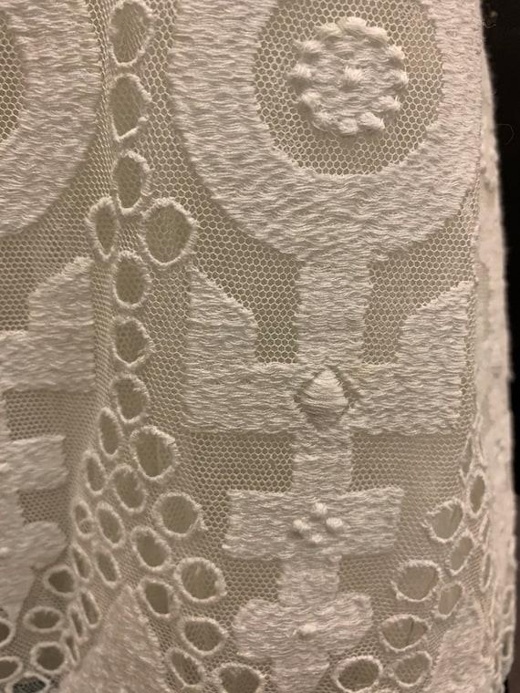 Edwardian hand embroidered dress - image 6