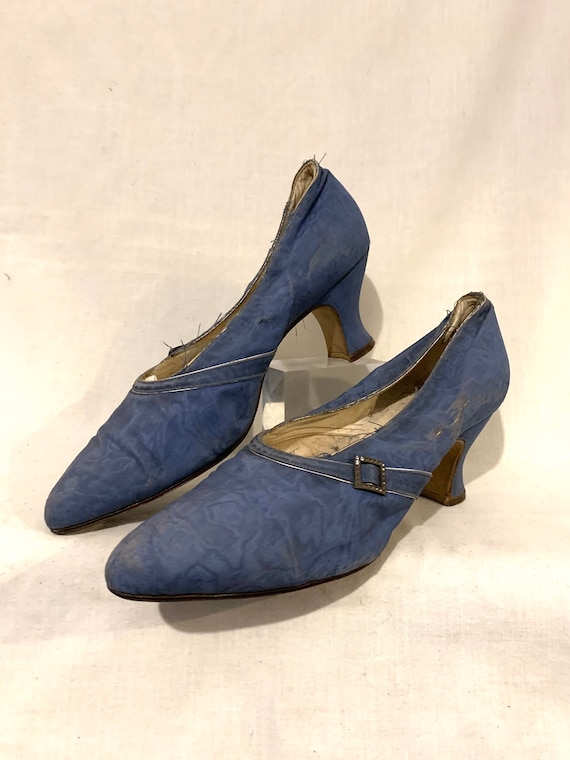 20's silk shoes