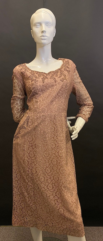 Stunning volup 1940s dress - image 1