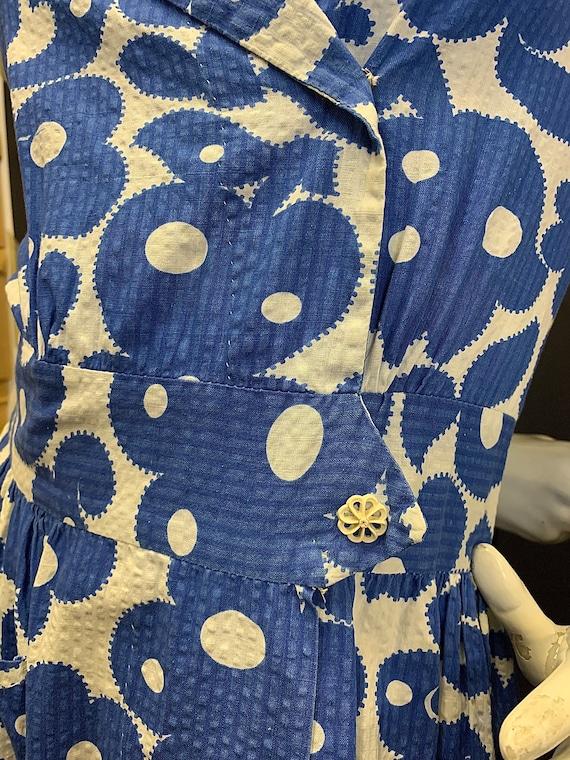 Volup 1950s seersucker dress - image 7