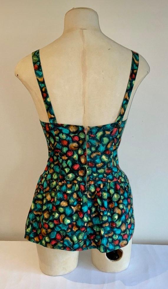 50's cotton swimsuit - image 3