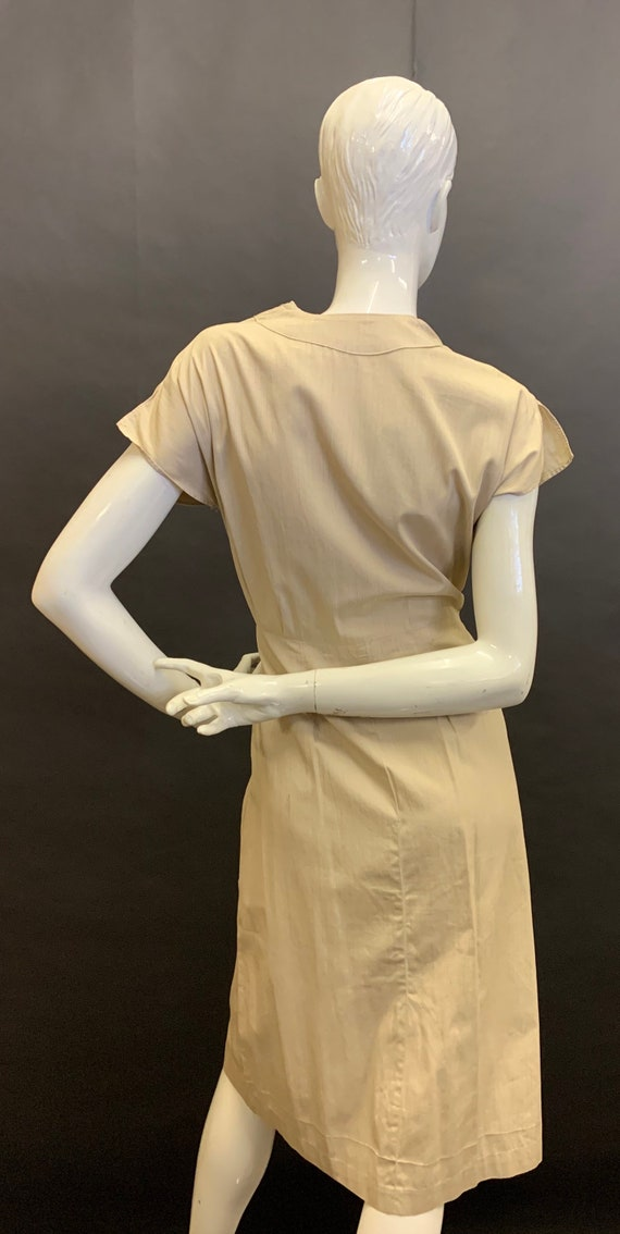 Late 30's cotton dress - image 5