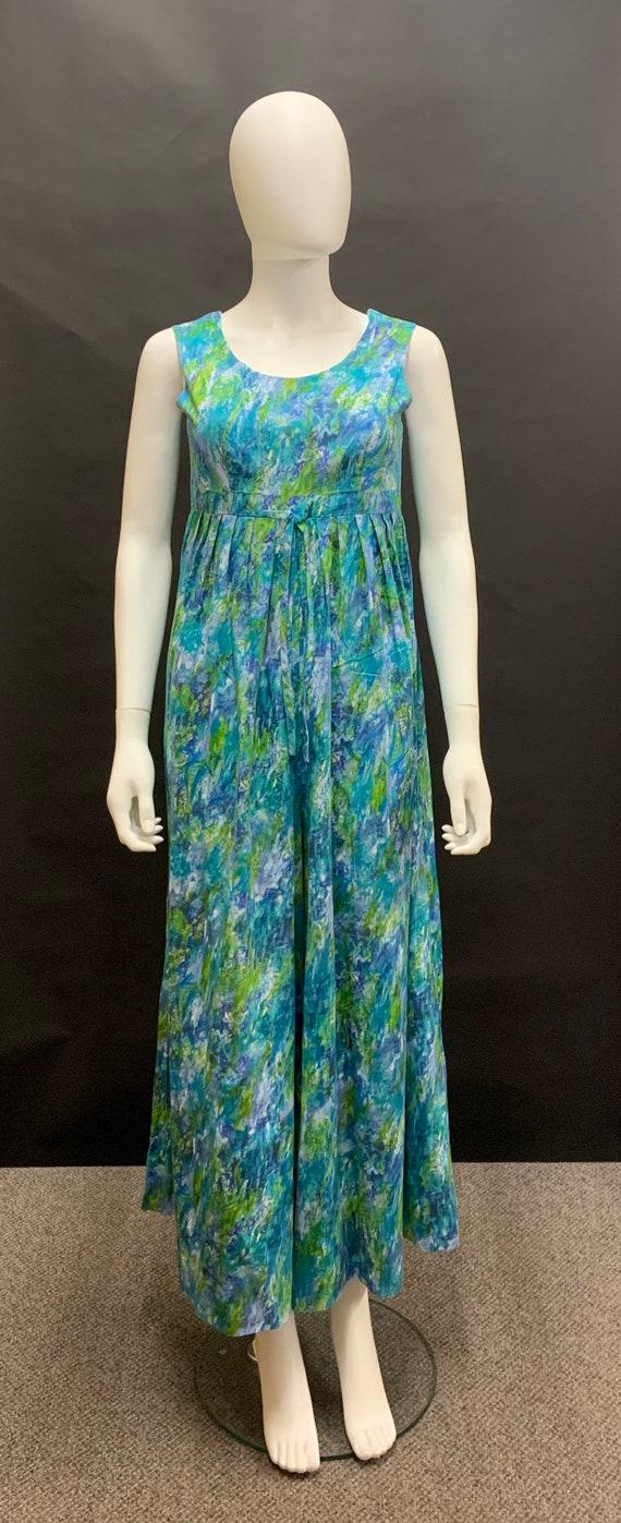 Fantastic 1970's cotton jumpsuit
