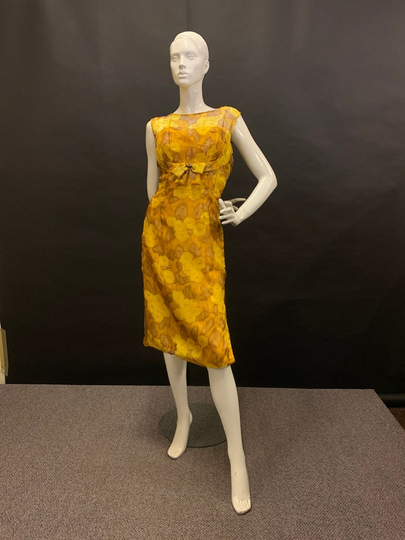 Late 50's cocktail dress