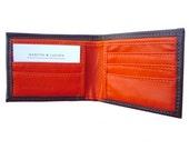 Bulletproof Kevlar Wallet  Brown / Orange