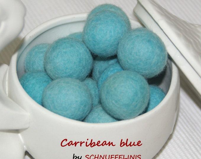 Felt balls UNI colors