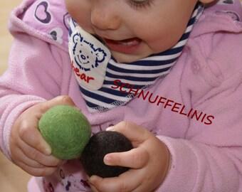 Felt balls, Montessori sensoric toy