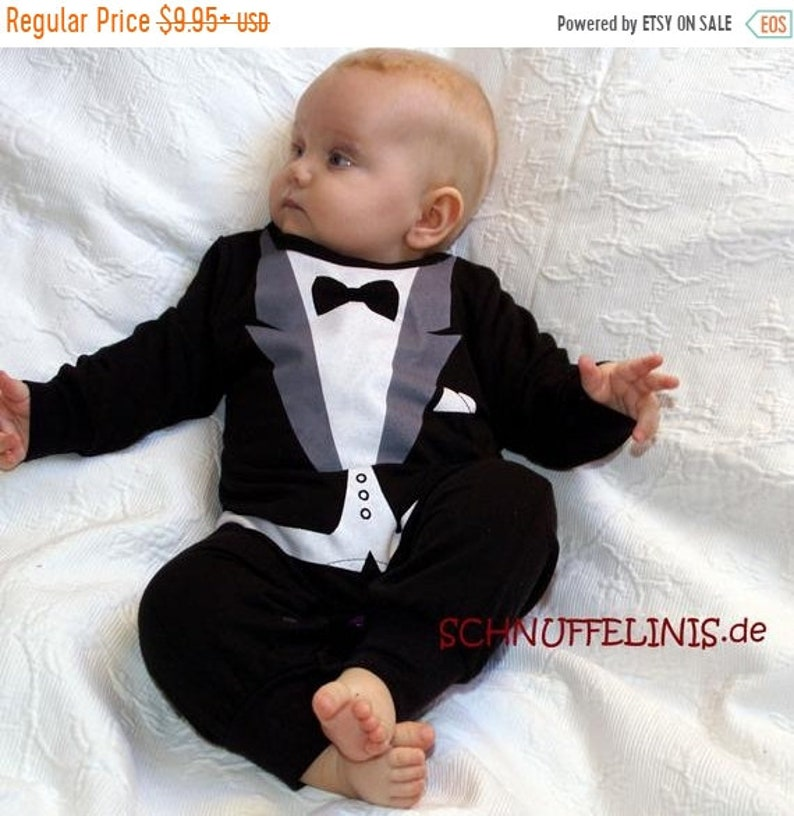 ON SALE Christmas items Baby weddint tux wedding dress image 0