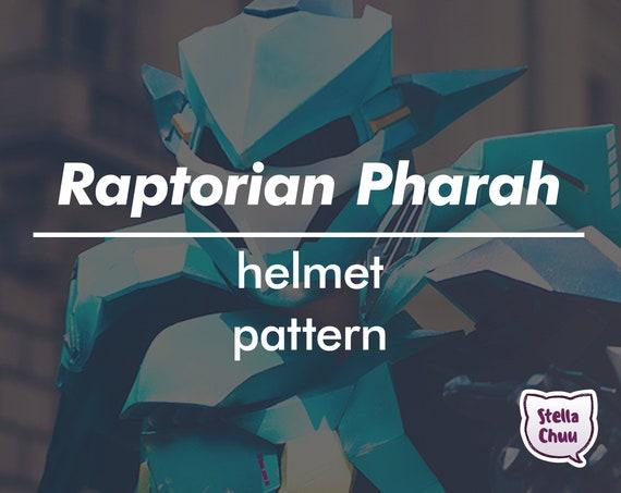 meglio nuovi prezzi più bassi pacchetto elegante e robusto Overwatch Pharah Raptorion Mecha Queen Helmet Instructional EVA Foam  pattern cosplay
