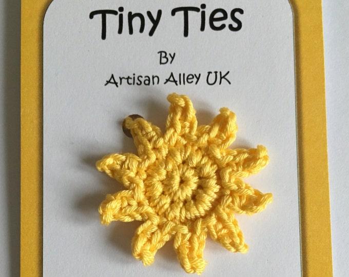 Sunshine Tiny Ties - Umbilical Cord Tie - Unisex Baby Gift