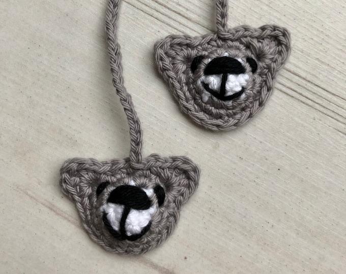 ECO Teddy Bear Organic Tiny Ties, Umbilical Cord Tie