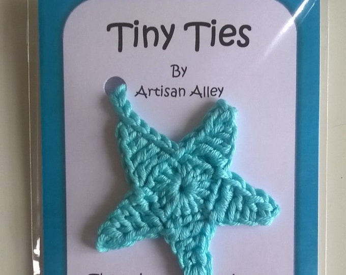 Star Tiny Ties - Umbilical Cord Tie - unique newborn baby shower gift