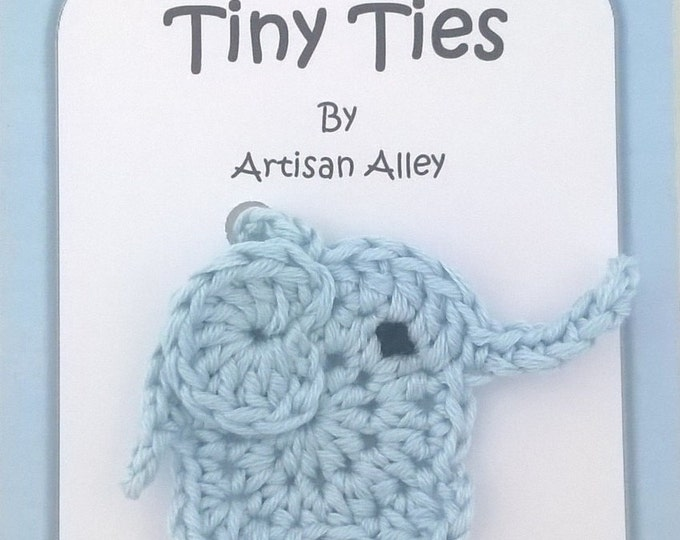 Elephant Tiny Ties - Umbilical Cord Tie - Unique Baby Shower Gift