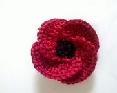 Poppy Brooch Remembrance Day, with 50% proceeds donated to Royal British Legion Poppy Appeal - Approved Fundraiser